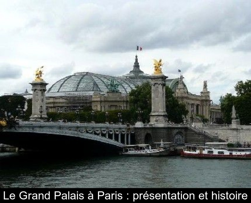 Le Grand Palais à Paris : présentation et histoire