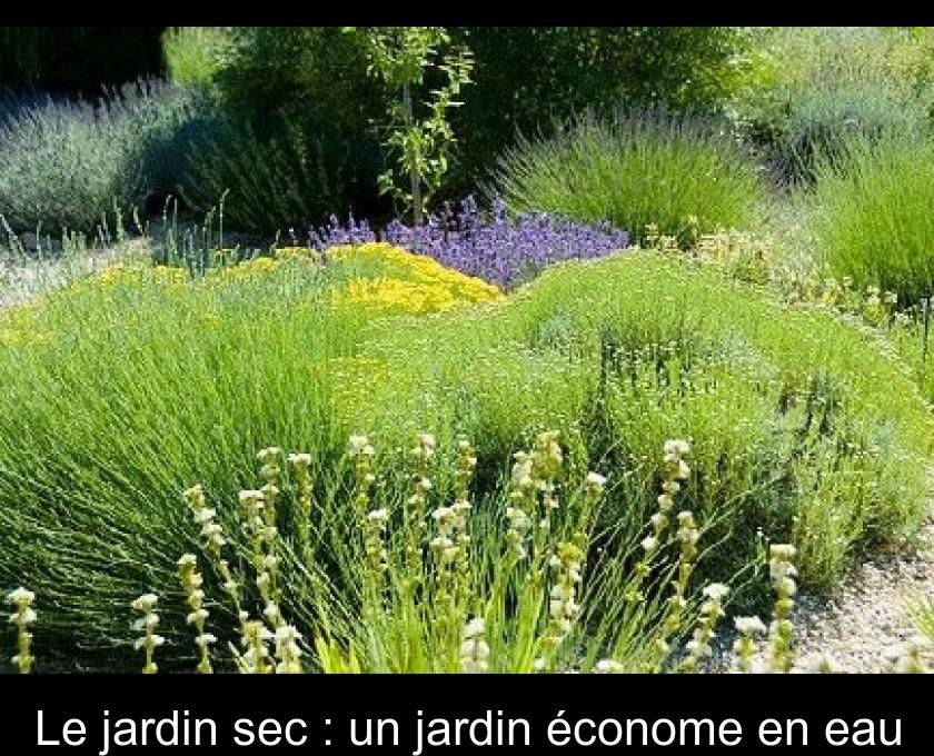 Le Jardin Sec Un Jardin Econome En Eau