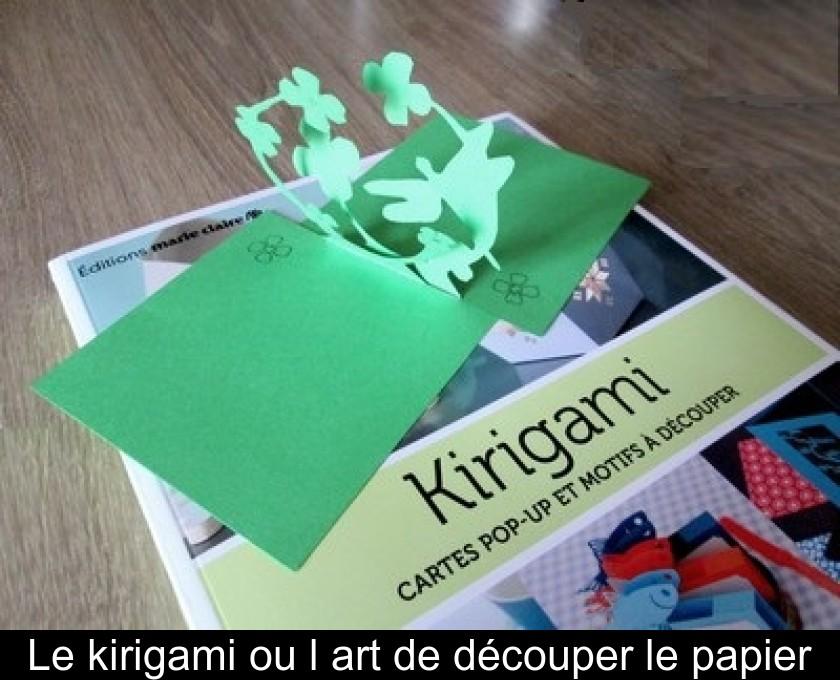 Le Kirigami Ou Lart De Découper Le Papier