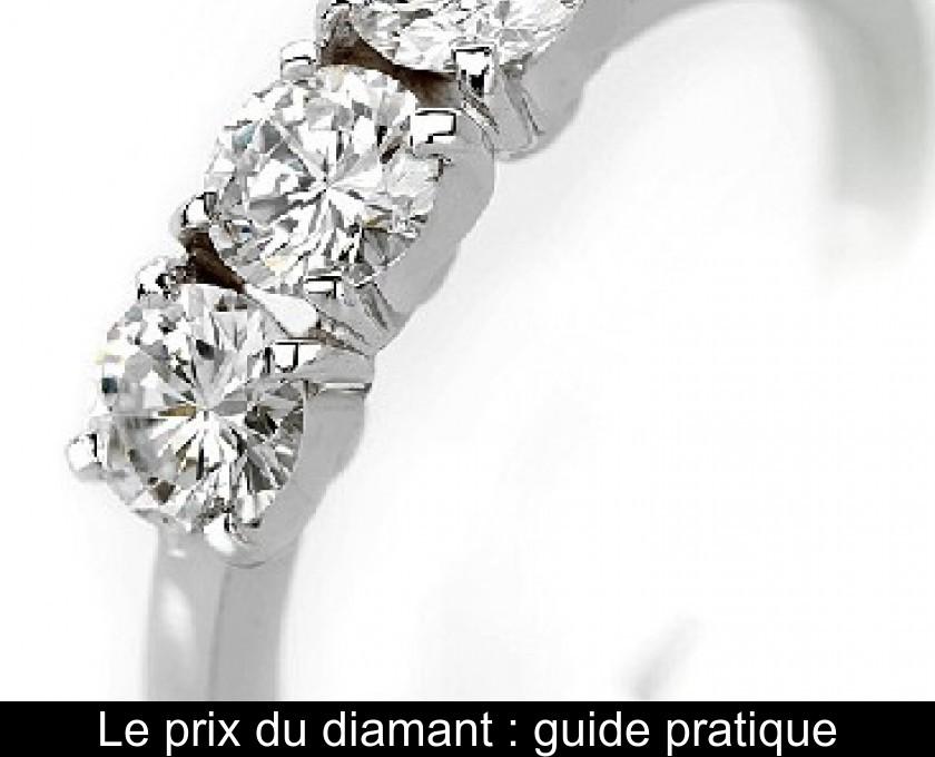 chaussures de séparation 072e3 c3e93 Le prix du diamant : guide pratique