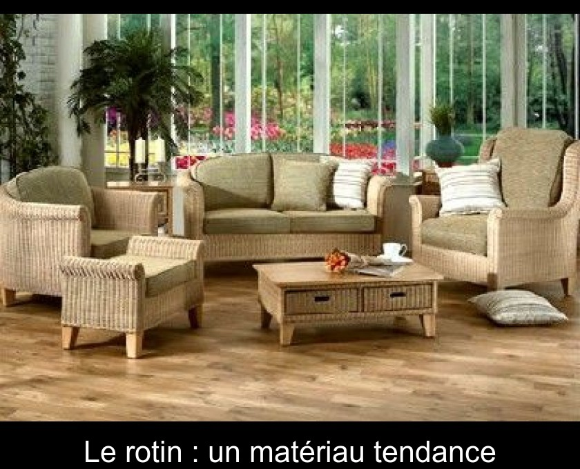 Entretenir le rotin : guide pratique