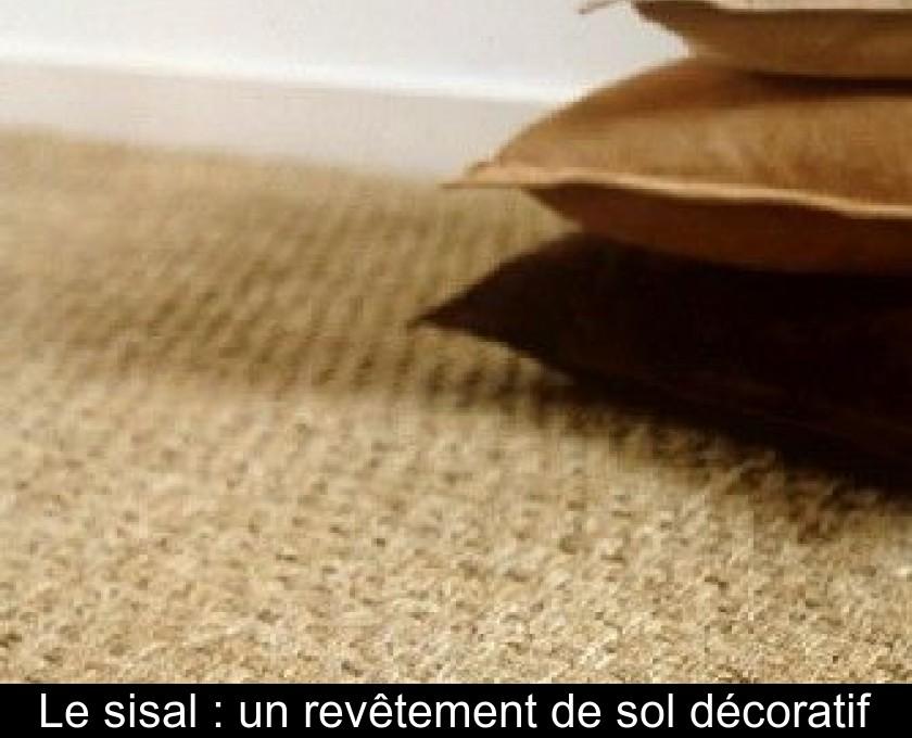Le Sisal Un Revetement De Sol Decoratif