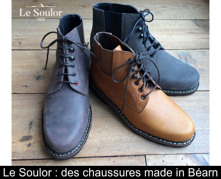 Made SoulorDes In Béarn Chaussures Le PkZuiOXT