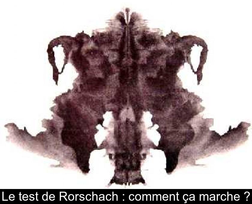 le test de rorschach   comment  u00e7a marche