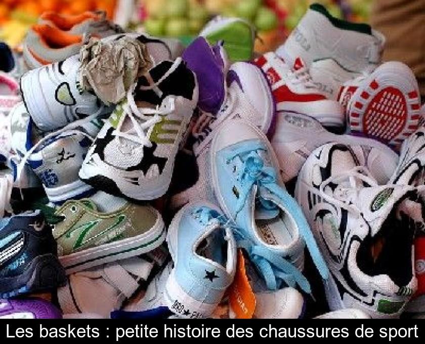 Les baskets : petite histoire des chaussures de sport