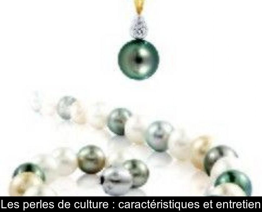 entretien d'un collier de perle