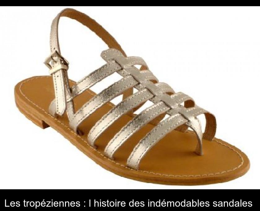 acheter populaire 21b75 0ba2a Les tropéziennes : l'histoire des indémodables sandales