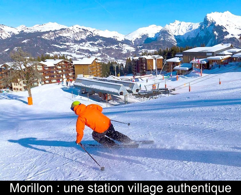 Morillon : une station village authentique