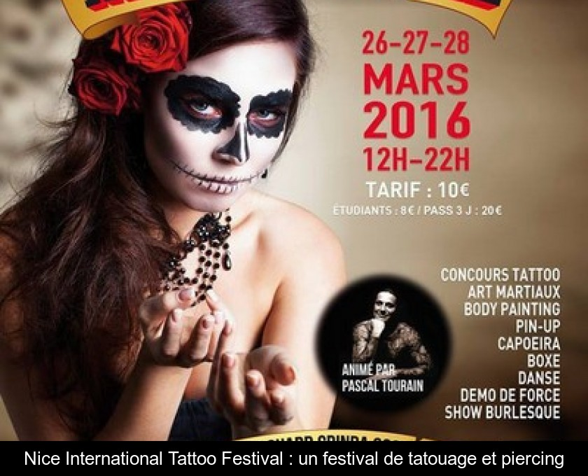 Nice International Tattoo Festival : un festival de tatouage et piercing