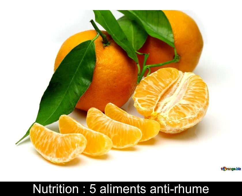 Nutrition : 5 aliments anti-rhume