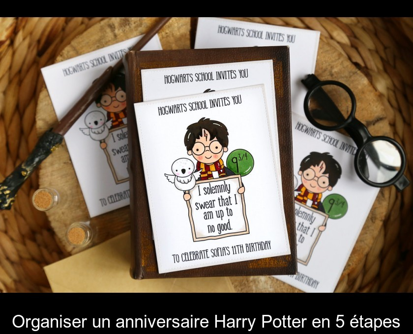 Organiser Un Anniversaire Harry Potter En 5 Etapes