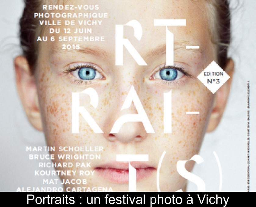 Portraits : un festival photo à Vichy
