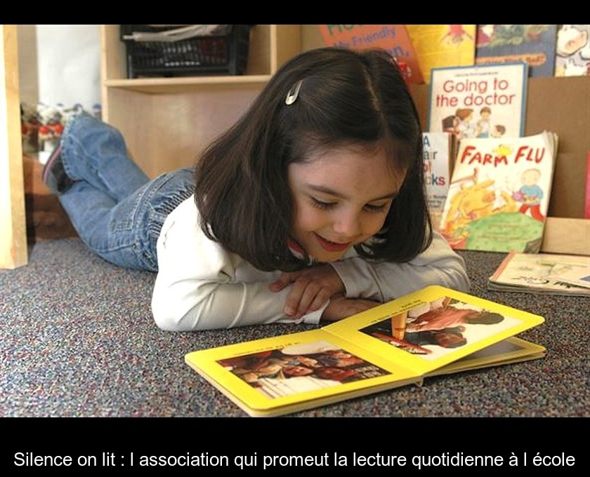 Silence on lit : l'association qui promeut la lecture quotidienne à l'école