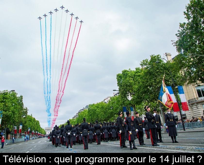 Télévision : Quel Programme Pour Le 14 Juillet ?