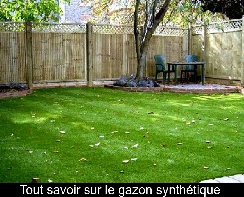 De Haute Qualite Tout Savoir Sur Le Gazon Synthétique