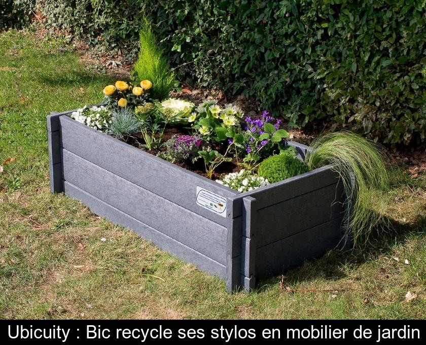 Ubicuity : Bic recycle ses stylos en mobilier de jardin