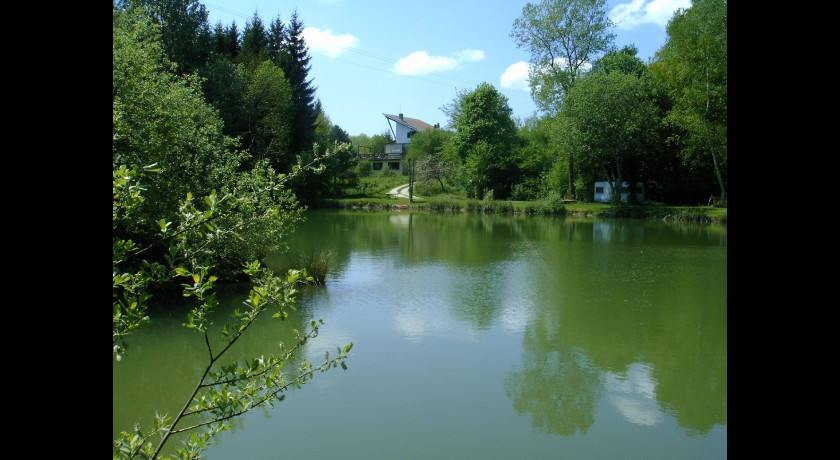 Camping L'orchidée Home  Roches-bettaincourt