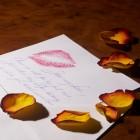 carte lettre amour