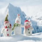 carte bonhommes de neige