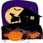 carte halloween sorciere