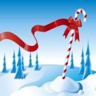 carte noel sous la neige