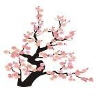 carte fleur japon