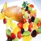 carte dessert fruit