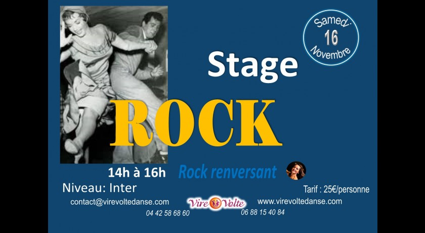Stage de rock renversant !