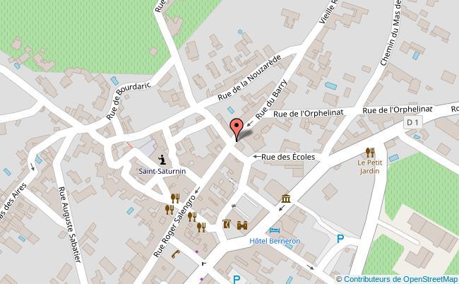 plan 4 rue des Arceaux Vallon-Pont-d'Arc
