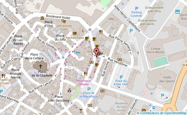 plan Boulevard Léon-Jean-Grégory