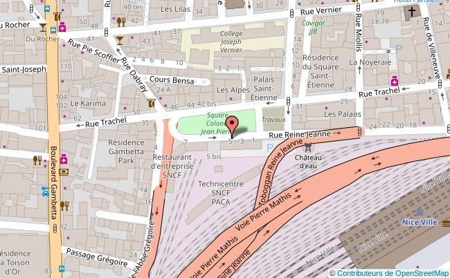plan Brasserie du vieux port