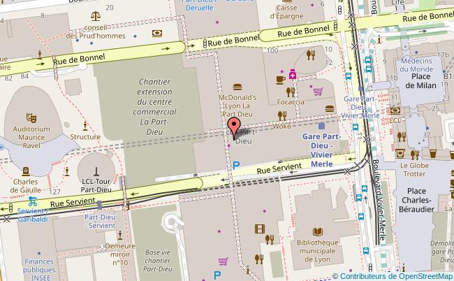 Centre Commercial La Part dieu Lyon