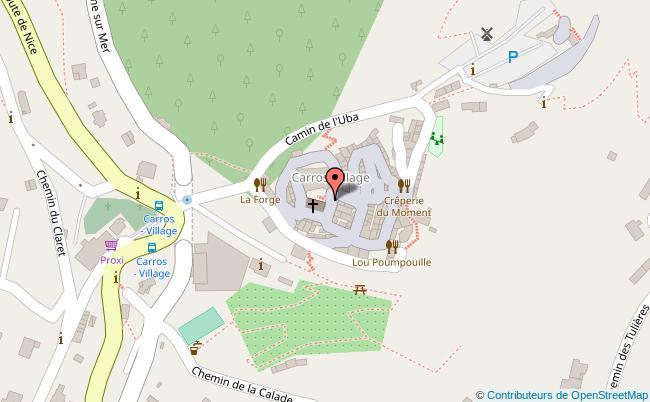 plan Centre international d'art contemporain