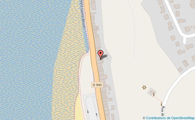 plan Char à voile club de la côte d'Opale Boulogne-sur-Mer