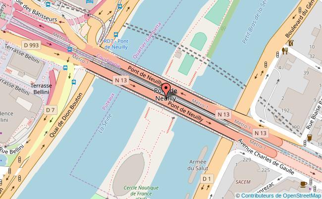 plan Complexe sportif du pont de Neuilly Neuilly-sur-Seine