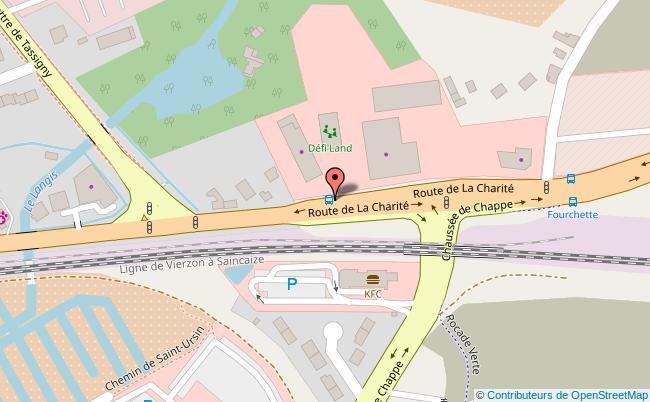 plan Défi'land Bourges