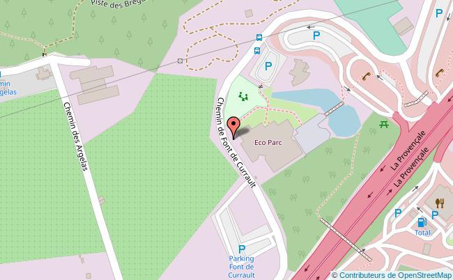 plan Eco'Parc de Mougins Mougins