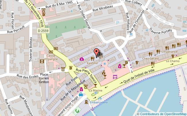 plan Eglise Saint-Francois-de-Sales Bandol