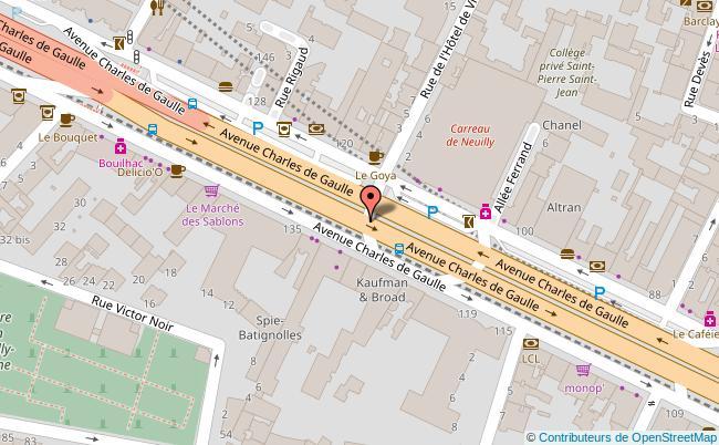 plan EGLISE SAINT JEAN-BAPTISTE Neuilly-sur-Seine