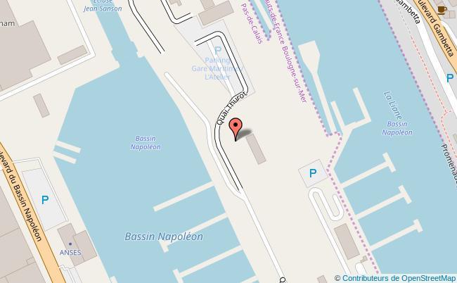 plan Gare Maritime de Boulogne-sur-Mer Boulogne-sur-Mer