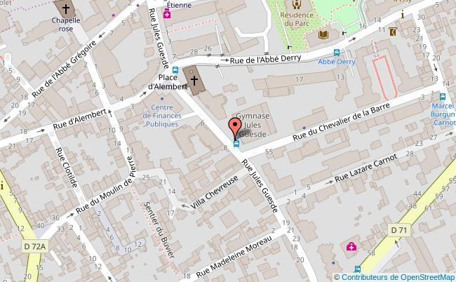 plan GYMNASE JULES GUESDE Issy-les-Moulineaux