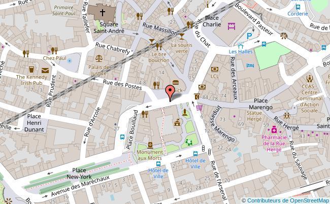 plan Hôtel de ville d'Angoulême Angoulême