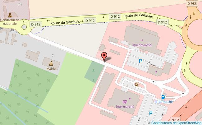 plan HOTEL DE VILLE DE MAULETTE