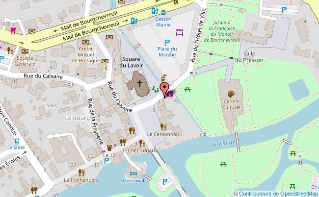 plan HOTEL DE VILLE DE RENNES Rennes