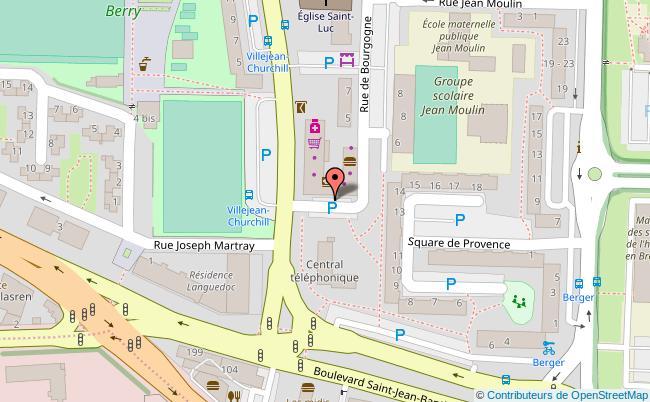 plan Insa de Rennes - Campus Beaulieu Rennes