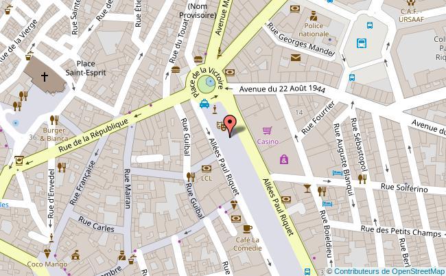 plan K Sofa Bar Resto Wok Béziers