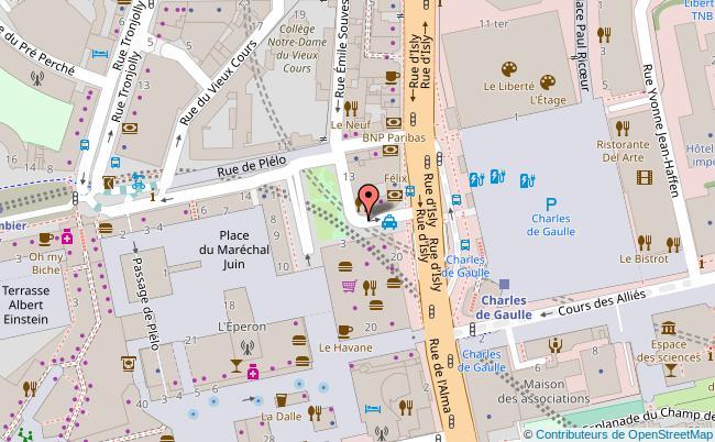 plan L'atelier des Chefs Rennes Rennes