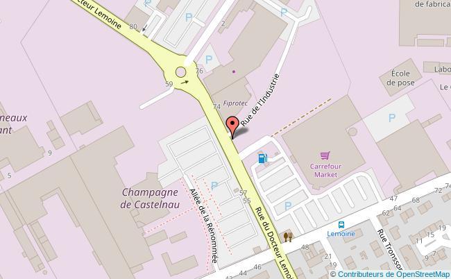 plan LA CARTONNERIE Reims