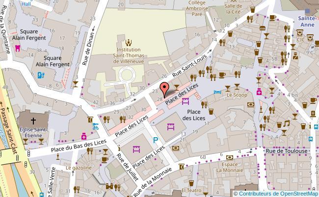 plan La Poudrerie Rennes