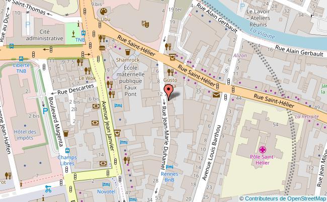 plan LE MUSEUM CAFE Rennes